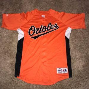 Baltimore Orioles Majestic Jersey Mens Medium MLB